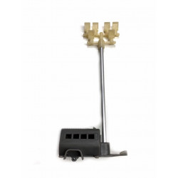 Mobile power generator with...